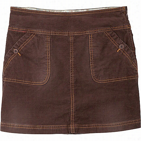 Prana Women's Canyon Cord Skirt