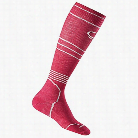 Icebreaker Women's Ski+ Compression Ultralight Over the Calf Sock