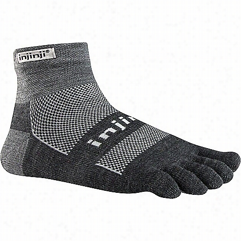 Injinji Performance 2.0 Outdoor Midweight Mini Crew Sock