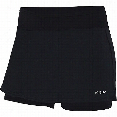 NRS Women's HydroSkin 0.5 Shorts with Skirt