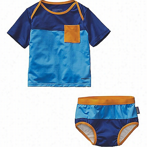Patagonia Infant Little Sol Swim Set