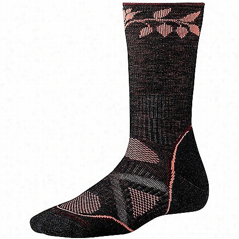 Smartwool Women's PhD Outdoor Medium Pattern Crew Sock
