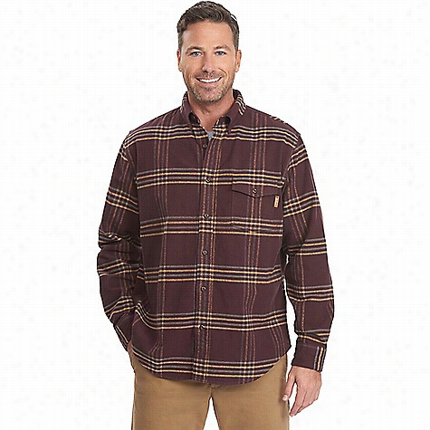 Woolrich Men's Tiadaghton Yarn - Dye Shirt