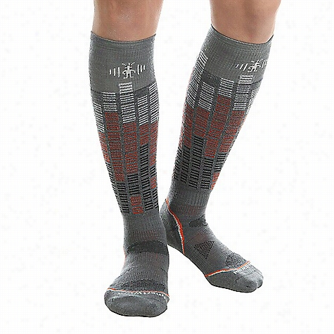 Smartwool PhD Snowboard Light Pattern Sock