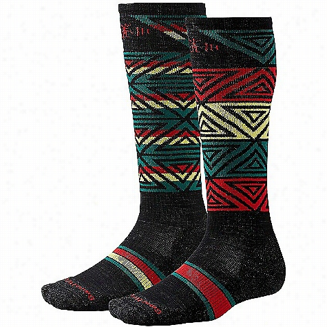 Smartwool PhD Slopestyle Light Switch Alley Oop Sock