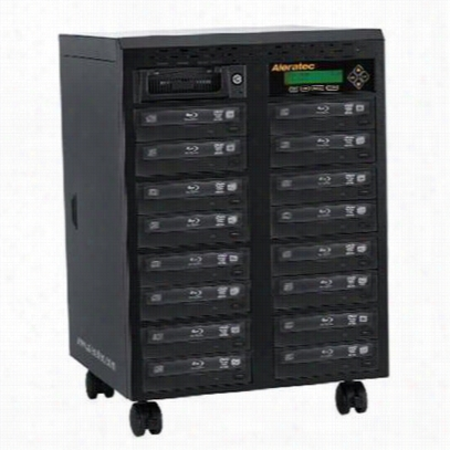 Aleratec 260206 1:15 Blu-ray DVD CD Tower Publisher BD Duplicator