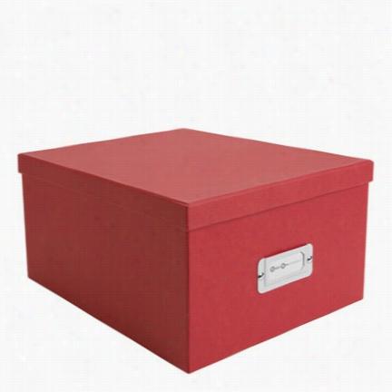 Gustav Classic CD/DVD/Video Box - Red