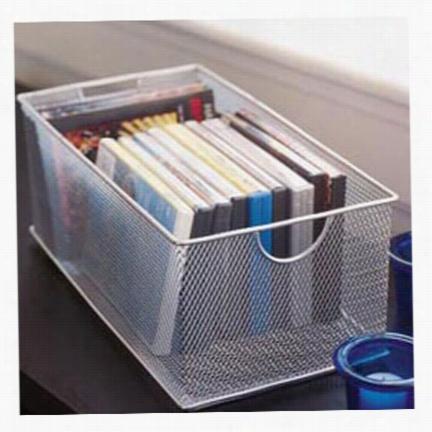 Mesh DVD Box - Silver