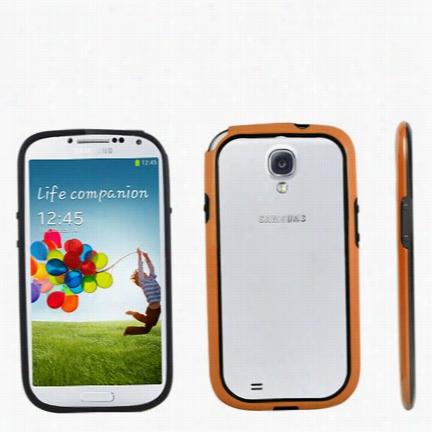 Protective Bumper for Samsung Galaxy S4 - Orange
