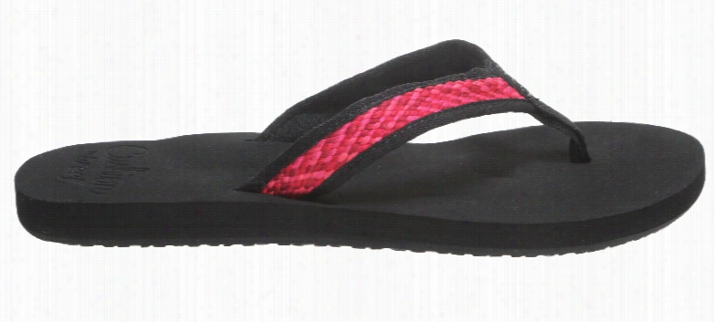 Reef Braided Cushion Sandals