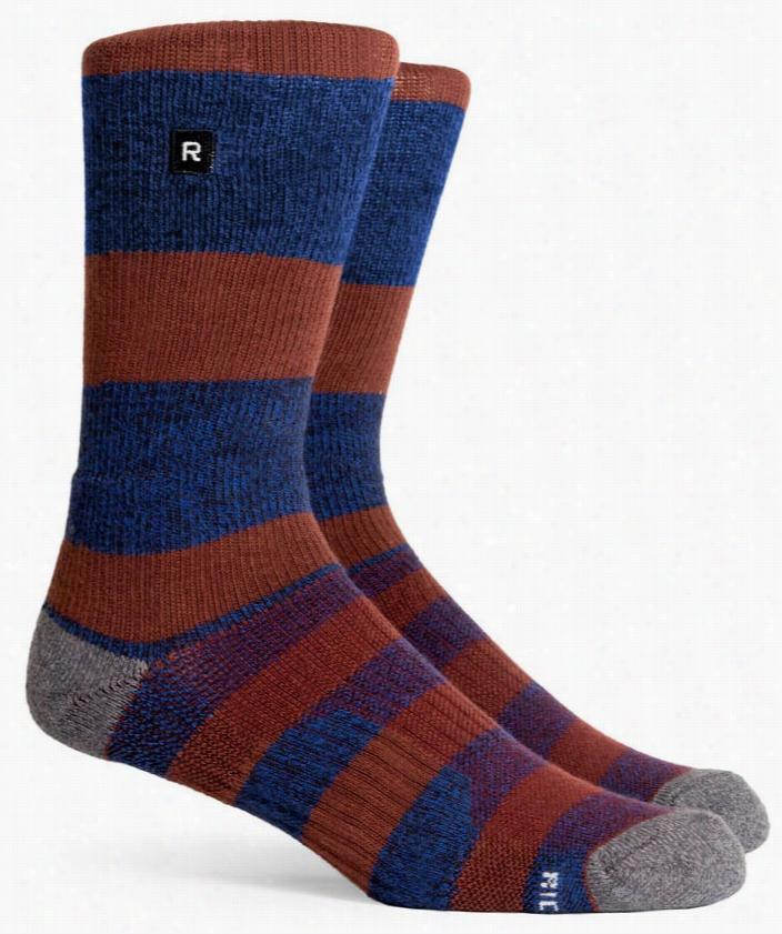 Richer Poorer Section Athletic Socks