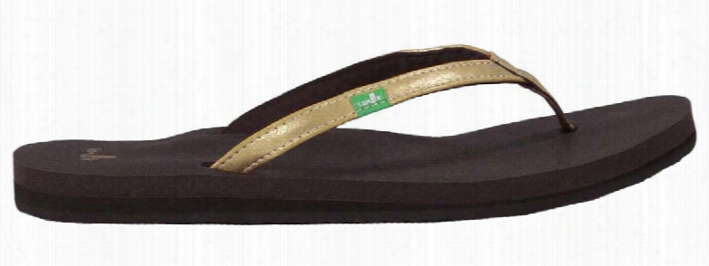 Sanuk Yoga Joy Metallic Sandals