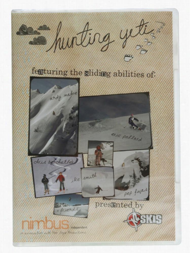 Hunting Yeti Ski DVD
