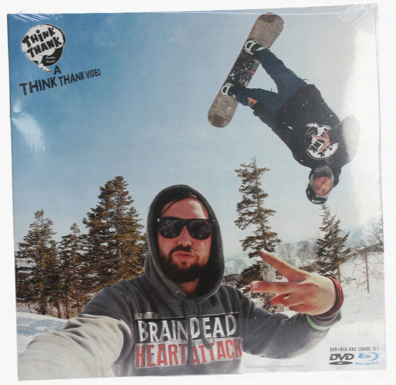 Think Thank Brain Dead Heart Attack Snowboard DVD/Bluray Combo