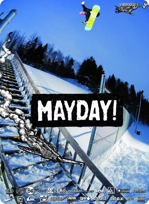 Videograss Mayday Snowboard DVD/Blu-Ray