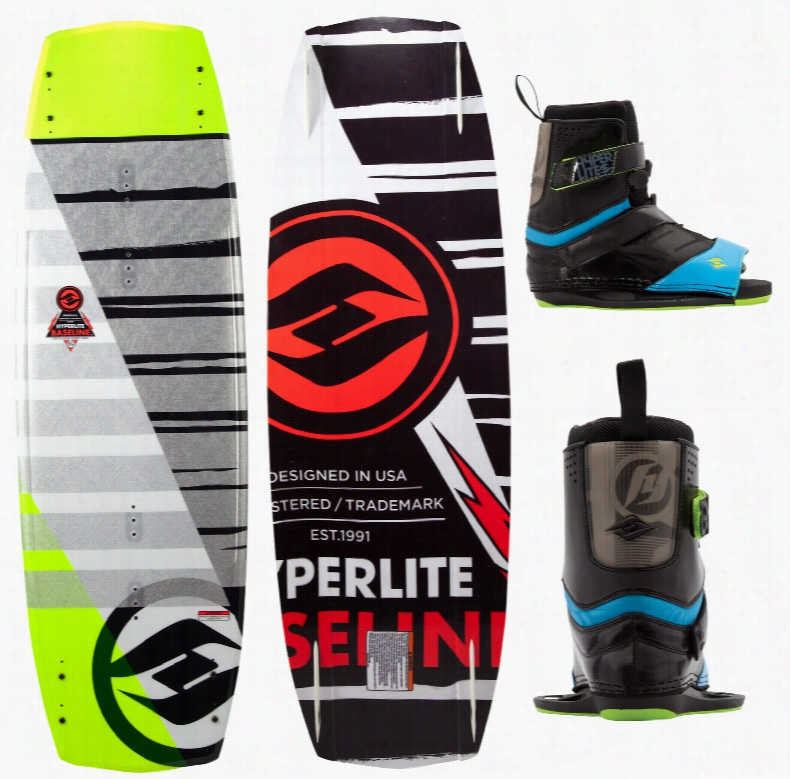 Hyperlite Baseline Wakeboard w/ Focus Bindings