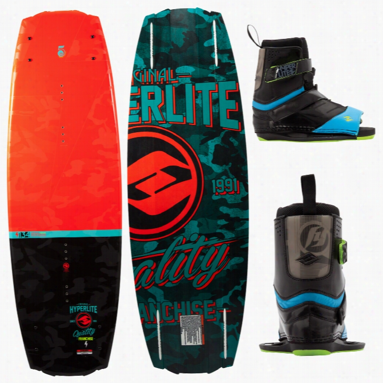 Hyperlite Franchise Wakeboard w/ Focus Bindings