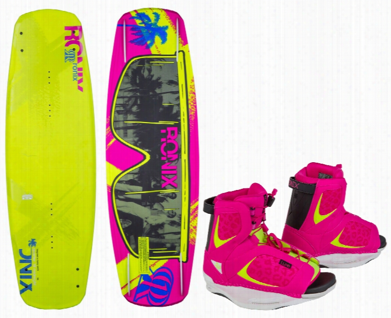Ronix Quarter Til Midnight Atr Wakeboard w/ Luxe Bindings