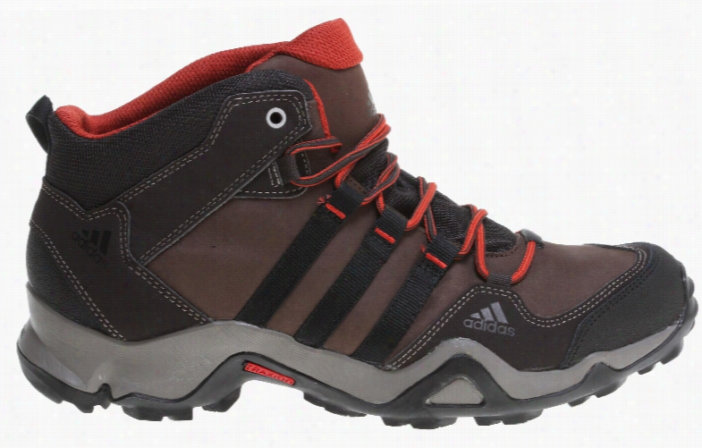 Adidas Bushwood Mid Leather Hiking Boots