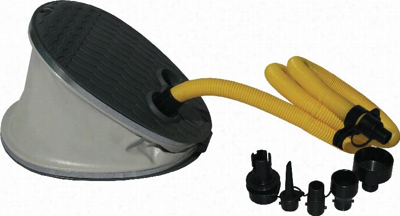 Aquaglide Bellows Inflatable Foot Pump