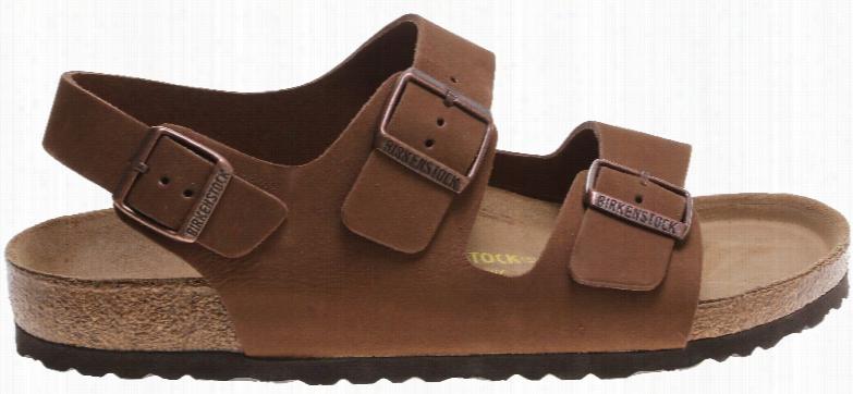 Birkenstock Milano Nubuck Sandals