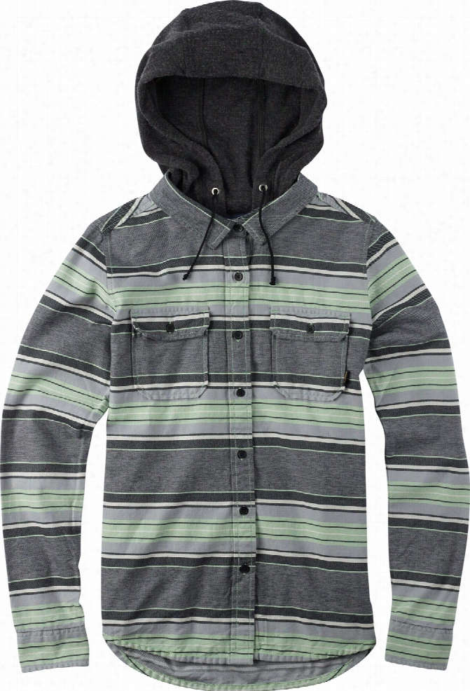 Burton Acorn Hooded Flannel