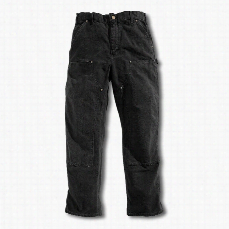 Carhartt Double-Front Washed Duck Work Dungaree Pants