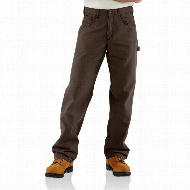 Carhartt Flame-Resistant Loose Fit Midweight Canvas Jeans