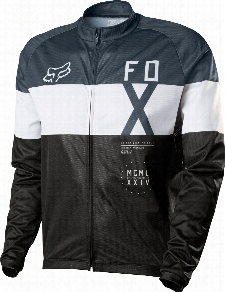 Fox Livewire Shield L/S Bike Jersey