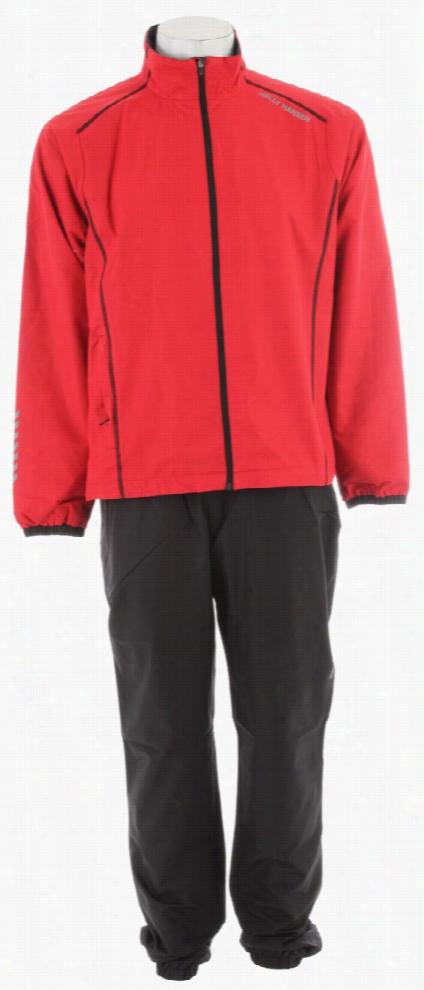 Helly Hansen Winter Training Set Jacket/Pant Set Red/Black