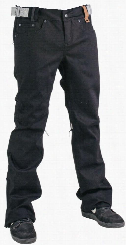 Holden Stretch Genuine Denim Skinny Snowboard Pants
