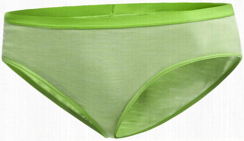 Icebreaker Siren Hipkini Stripe Underwear Pear/Snow