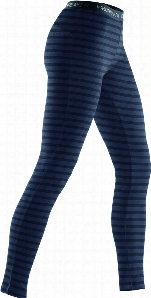 Icebreaker Vertex Leggings Stripe Baselayer Pants