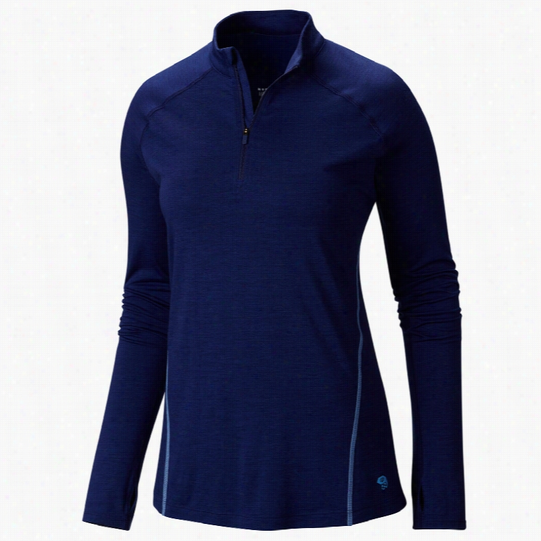 Mountain Hardwear Integral Pro L/S Zip Baselayer Top