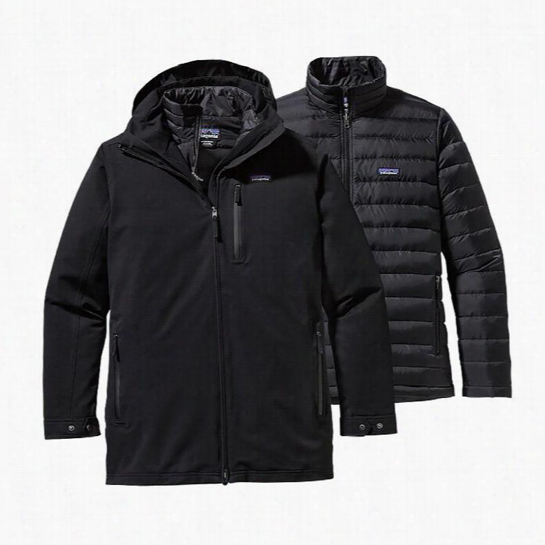 Patagonia Tres 3 In 1 Parka Ski Jacket