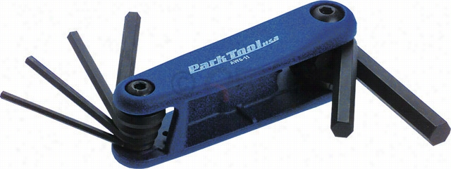 Park Tool AWS-11 Metric Folding Hex Wrence Set