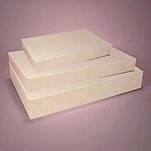 100ea - 11 X 8-1/2 X 1-3/4 White Apparel Box
