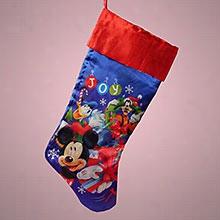 1ea - 10 X 20 Mickey Christmas Stocking