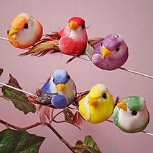 24ea - 1 X 2-1/4 X 1 Small Cute Bird Decor