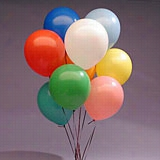 "144ea - 12"" Assorted Opaque Latex Balloon"