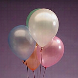 "144ea - 12"" Assorted Pearlized Latex Balloon"