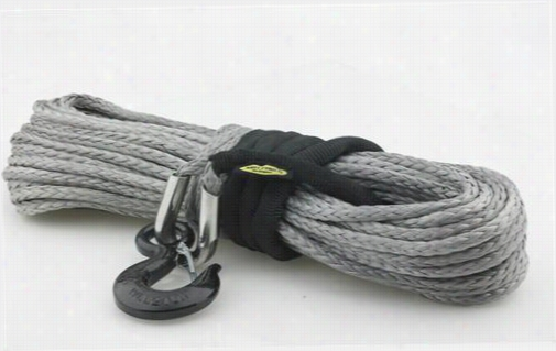 Smittybilt 15,000 Pound XRC Synthetic Winch Rope, 92 Foot Length 97715 Winch Cable and Synthetic Rope