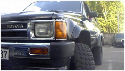 1989 TOYOTA PICKUP Bushwacker Toyota Pickup Cut-Out Front Fender Flares
