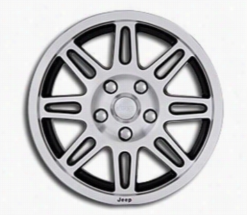 Jeep 2007-2013 Jeep JK Wheel, 17X7.5 with 5 on 5 Bolt Pattern - Machined 82210862 Chrysler Factory Aluminum Wheels