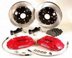 Power Slot Stoptech Big Brake Kit 83.488.6800.22 Disc Brake Calipers, Pads and Rotor Kits