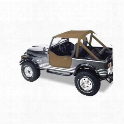 Bestop Traditional Style Jeep Bikini Top in Tan 52508-04 , CJ7