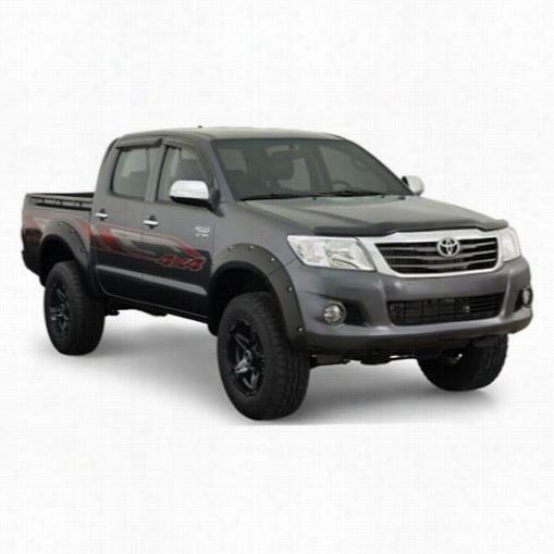 2011 TOYOTA HILUX Bushwacker Toyota Hilux Pocket Style Fender Flare Set