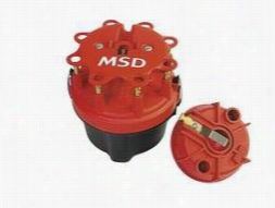 MSD Cap-A-Dapt Cap And Rotor 8445 Distributor Cap & Rotor