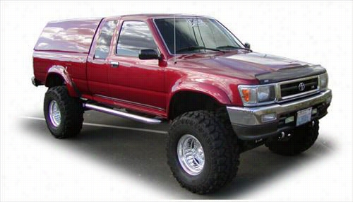 1989 TOYOTA PICKUP Bushwacker Toyota Pickup Extend-A-Fender Front Flares
