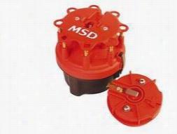 MSD Cap-A-Dapt Cap And Rotor 8420 Distributor Cap & Rotor